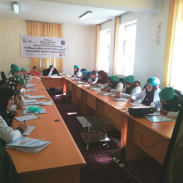 1st Round of Midwifery Training in Panjsher