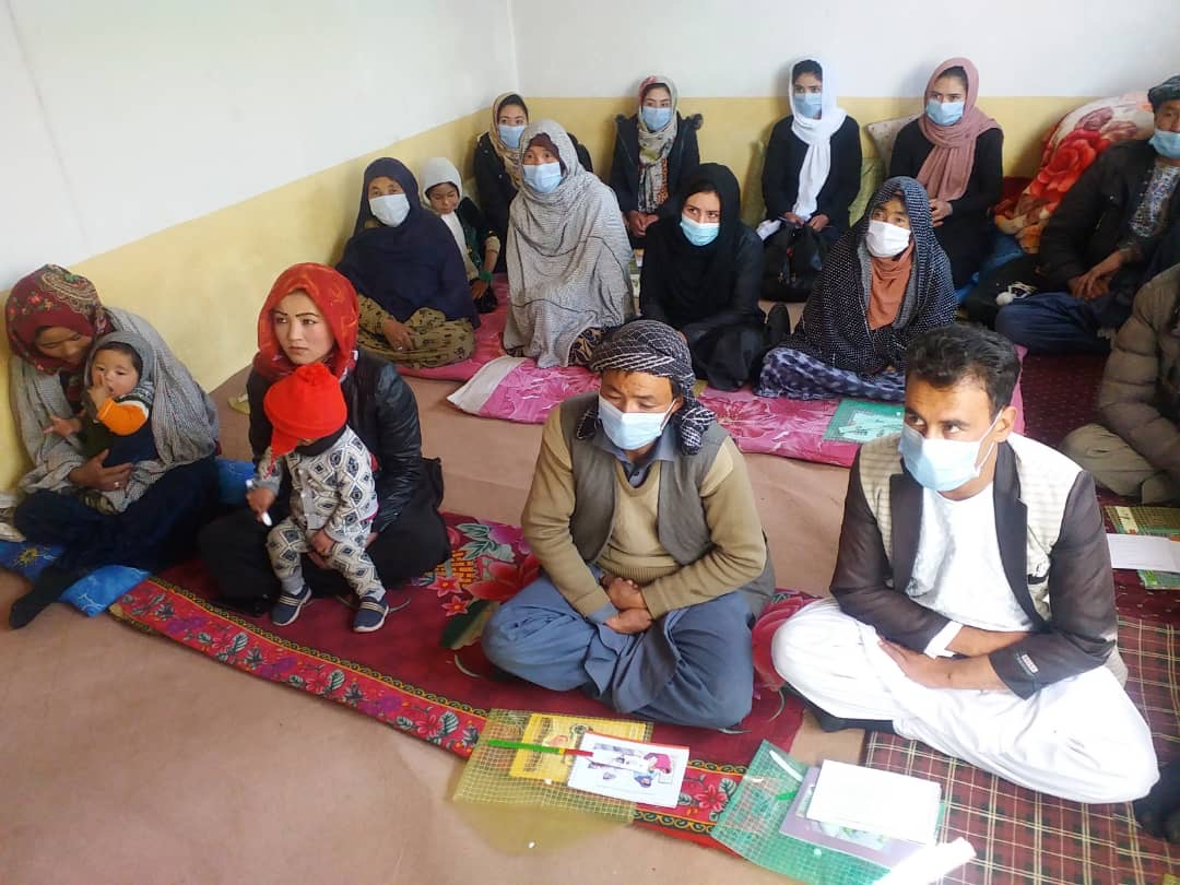 AfD's training of CHWs arrives in Bamyan