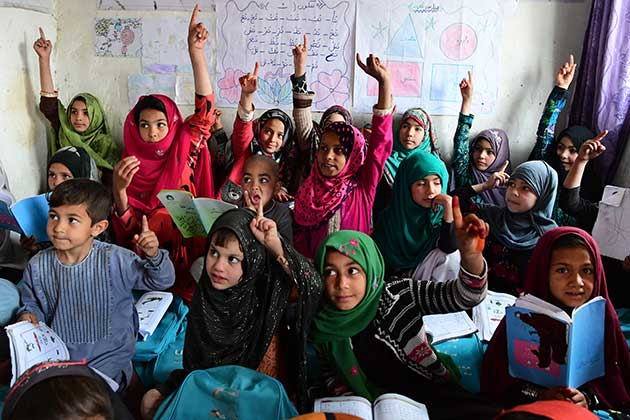 Despite Conflict and COVID-19, Children Still Dream to Continue Their Education in Afghanistan