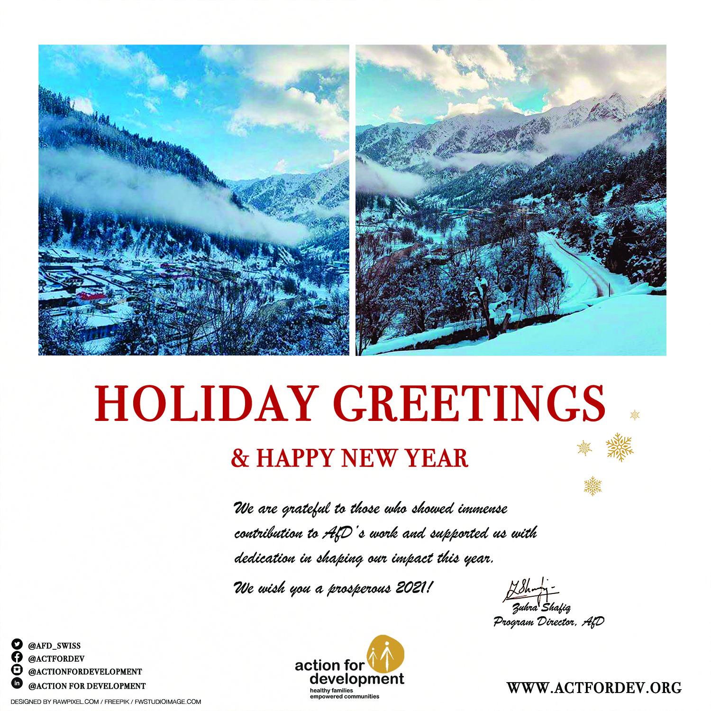 AfD December 2020 Newsletter