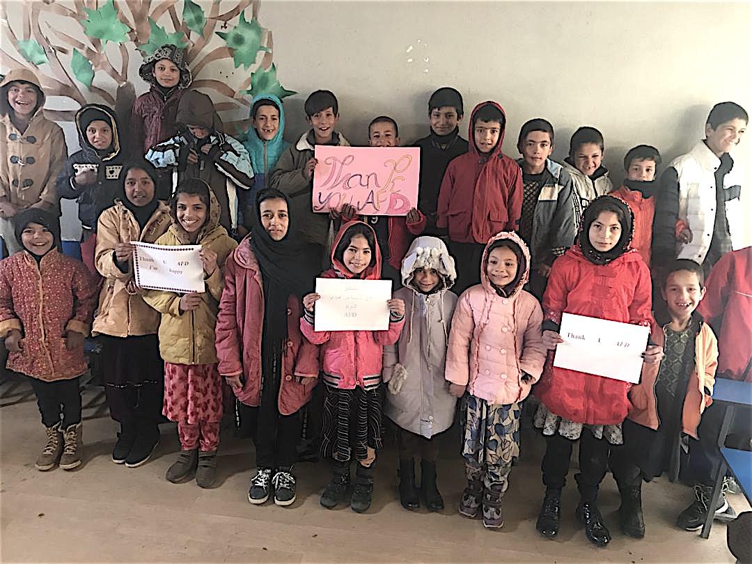 AfD launches 'Winterization' campaign 2020/2021