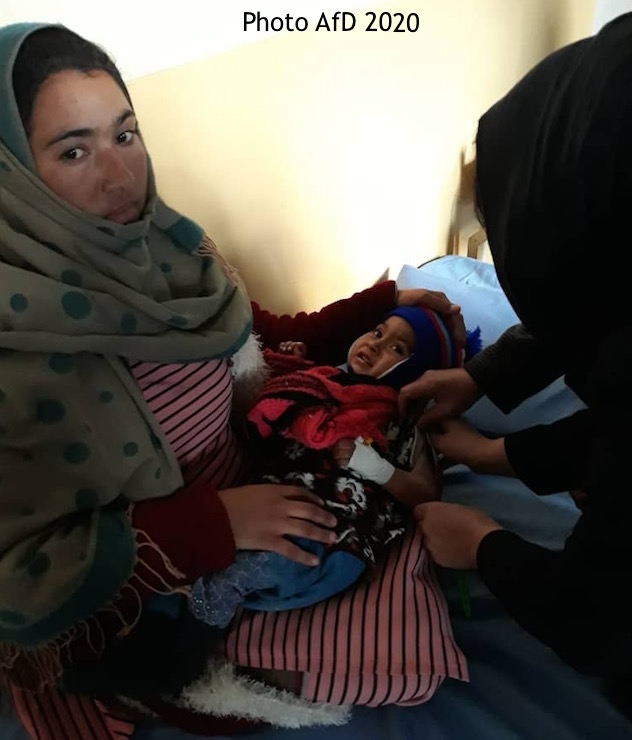 'Family MUAC' training in Kabul